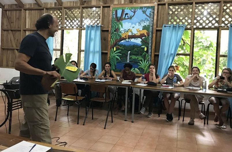 YES; Youth encounter on Sustainability; Costa Rica; sustainability classes