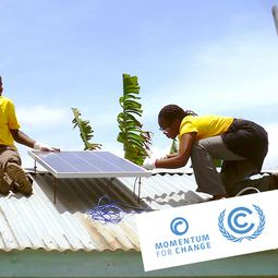 UNFCCC; Solar Home Systems, Mobisol; Momentum for Change