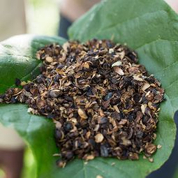 Coffee husks are produced as a side product during the production of coffee.