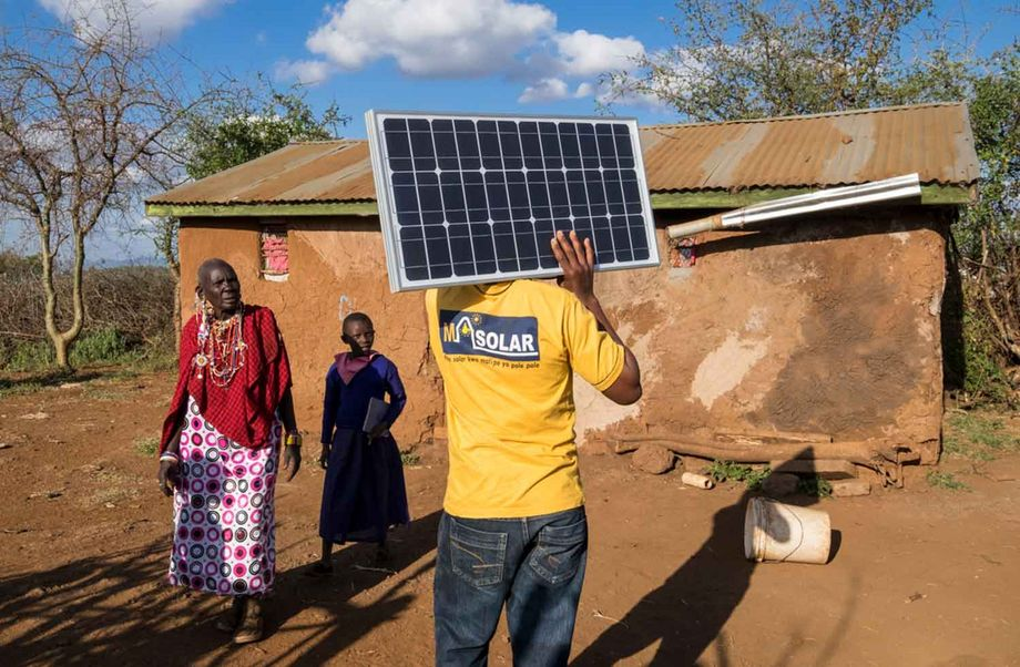 Solar Panels For Education And Quality Of Life