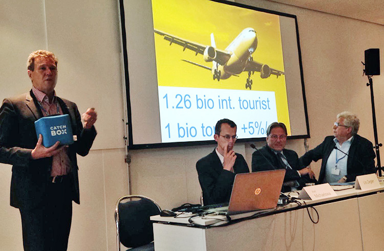 COP23; Bonn, CORSIA, aviation, climate protection, René Estermann
