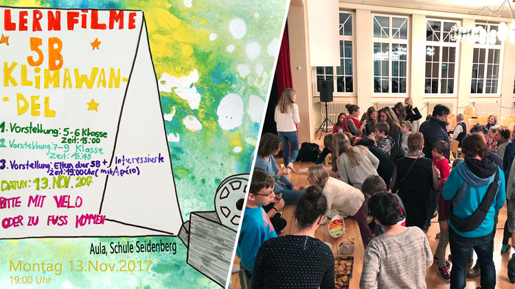 Seidenberg School; Gümligen; Kids care for climate; climate protection