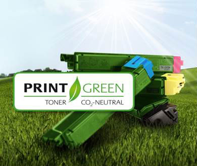 KYOCERA toners are now climate neutral