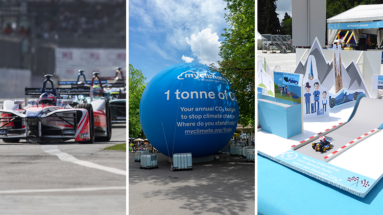 formula e; zurich e prix; climate-neutral event; climate protection