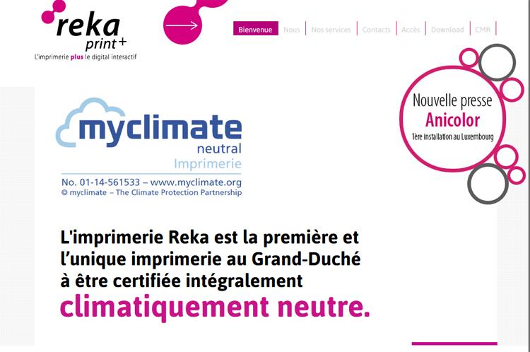 klimaneutrales Drucken Luxemburg