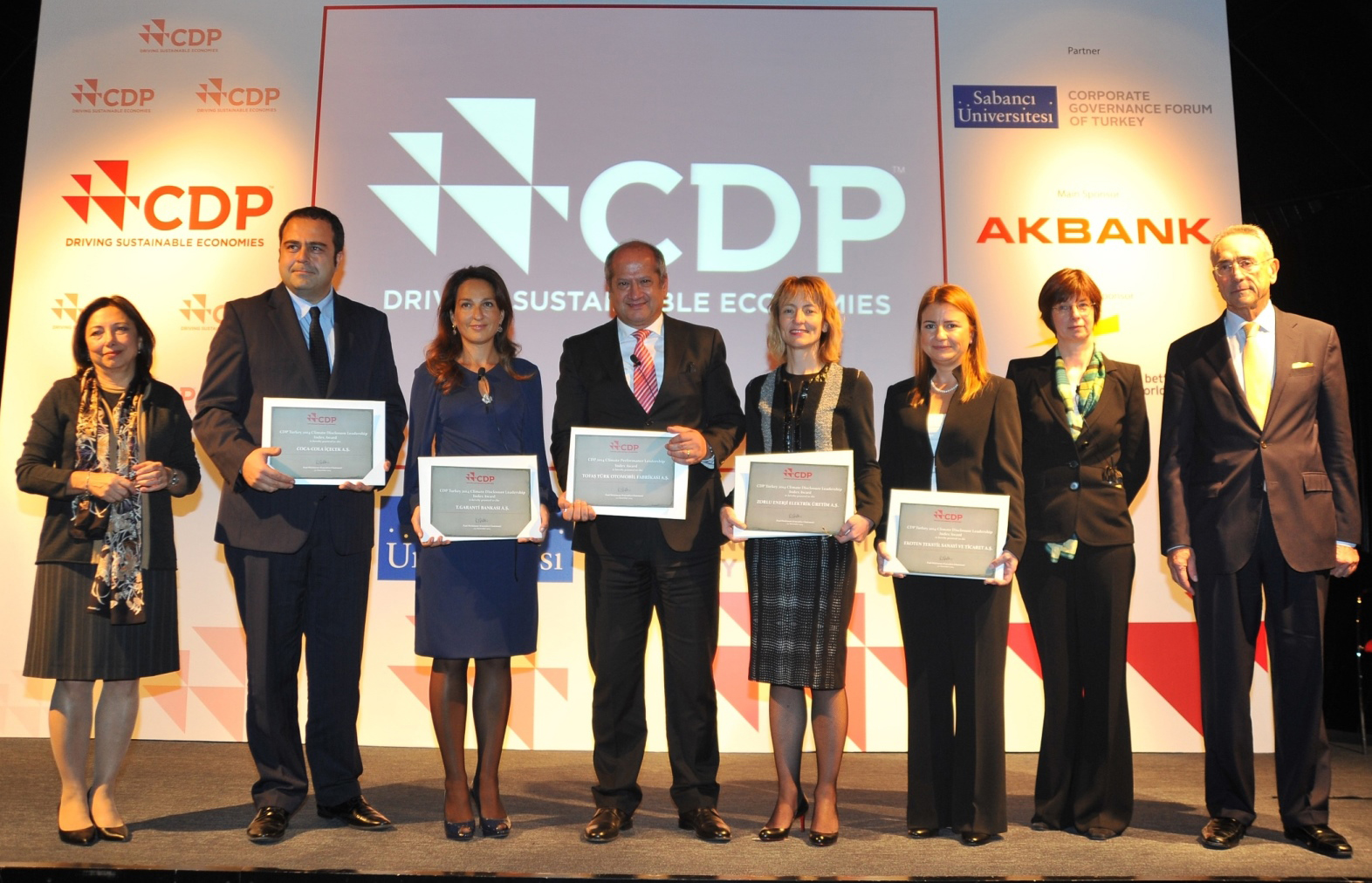 CDP, Leadershio, Carbon Disclosure, myclimate Turkey